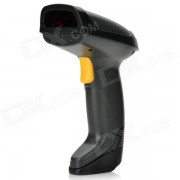 2.4GHz inalambrico laser Visible Barcode Scanner - negro + gris