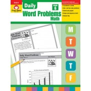 Daily Word Problems, Grade 6+ by Evan-Moor Educational Publishers