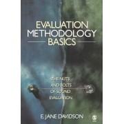 Evaluation Methodology Basics by E. Jane Davidson