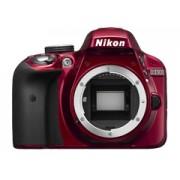 Nikon D3300 vörös tükörreflexes digitális fényképezőgép váz