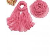 Esarfa roz inchis de dama