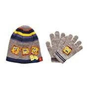 Nickelodeon SpongeBob SquarePants H11F4289 Boy's Hat and Glove Set