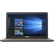 "Laptop ASUS A540SA-XX575T (Procesor Intel® Celeron® N3060 (2M Cache, up to 2.48 GHz), Braswell, 15.6"", 4GB, 500GB, Intel HD Graphics 400, Win10 Home, Negru Ciocolatiu)"