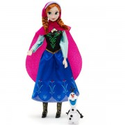Papusa Disney Printesa Anna din Frozen si Olaf