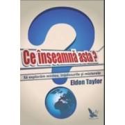 Ce Inseamna Asta - Sa Exploram Mintea Intelesurile Si Misterele - Eldon Taylor