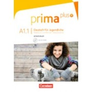 Prima plus A1: Band 01. Arbeitsbuch mit DVD-ROM by Friederike Jin