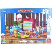 Trefl 15 db-os keretes puzzle - Handy Manny