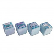 Set 24 cajitas baby azul