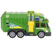 Fast Lane Action Wheels Garbage Truck - Green by Toys R Us