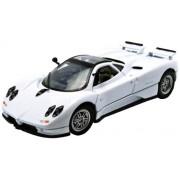 Motormax - 73272W - Véhicule Miniature - Modèle À L'Échelle - Pagani Zonda C12 - 2001 - Echelle 1/24