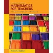 Mathematics for Teachers by Thomas Sonnabend