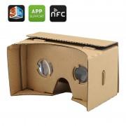 Lunettes 3D en carton DIY - Lunettes realite virtuelle pour smartphone / NFC / Pour iPhone et Android