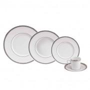 Deshoulieres Aparelho de Jantar Excellence Proude 24 Peças Porcelaine de Limoges Philippe Deshoulieres
