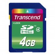 Card Transcend SDHC 4GB Class 4