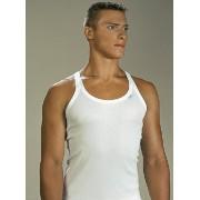 Lord Mr Big Shoulder Strap Tank Top T Shirt White 1521