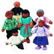 Small World Toys Ryans Room Wooden Doll House - Family Affair (Hispanic-American Family)
