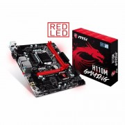 Micro-Star International MSI Intel H110M GAMING Micro Socket 1151 mATX Motherboard