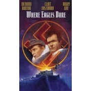Where Eagles dare:Richard Burton,Clint Eastwood - Acolo unde se avanta vulturii (DVD)