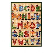 Sevi - 60531 - Ameublement et Décoration - Tapis Alphabet - 140x100 cm