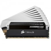 Memorie Corsair Dominator Platinum 64GB (8x8GB) DDR3, 2400MHz, CL11, Octo Kit, Dual/Quad Channel, CMD64GX3M8A2400C11