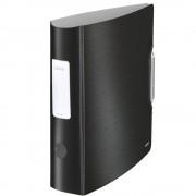 Biblioraft dublu plastifiat, 5.0cm, negru satin, LEITZ 180° Active Style
