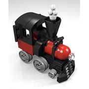 Constructibles Train Engine Mini Model Lego Parts & Instructions Kit