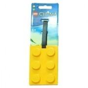 Lego Chima Brick Shape Luggage Tag - I.D. Tag (Colors Vary)