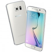 Smartphone Samsung Galaxy S6 EDGE 32GB White, ram 3GB, 5.1 inch, android 5.0.2 Lollipop