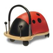 Wheely Bug Trotteur Wheely Bug 51110M Coccinelle, multi-directionnel, grand modèle 3 ans et +, corps en bois sur roues, très résistant, excellente qualité, des heures d'amusement garanties !
