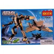 Mera Toy Shop Robot Construction Set -357 Pcs (Multicolor)