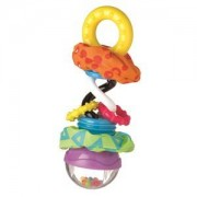 Playgro Unisex Norway Assort First toys and baby toys Multi Super Shaker Rattle & Teether