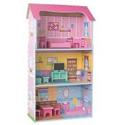 Woodyland fingono il colorato Doll House Set (13 pezzi)