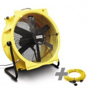 Ventilator TTV 7000 + cablu profesional de prelungire 20 m / 230 V / 2,5 mm²