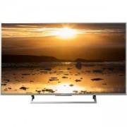 Телевизор Sony KD-49XE8077, 49 инча, 4K HDR TV BRAVIA, Edge LED, Android TV, Сребрист, KD49XE8077SAEP