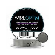 Stainless Steel 316L Wire 24 25 26 27 28 AWG 25' 50' 100' 250' 500' 1000'