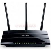Router Wireless TP-Link TD-W9980, Dual Band, Gigabit, 300 Mbps, 3 Antene externe, 2 Antene interne (Negru)