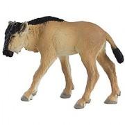 Safari Ltd Wild Safari Wildlife - Blue Wildebeest Baby - Realistic Hand Painted Toy Figurine Model - Quality Constructio