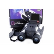 Binoclu 12x32 cu stocare : mini camere video
