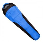 Sac de dormit Klarfit Gullfoss 230x80x55cm 1.5kg, albastru (SLB-Gullfoss-Deep-Bl)