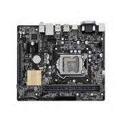 Tarjeta Madre ASUS micro ATX H110M-R/C/SI, S-1151, Intel H110, HDMI, USB 3.0, 32GB DDR4, para Intel
