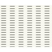 Porsche Design 884657 - Carta da parati in TNT con effetto metallico, collezione Square, colore: Nero/Bianco