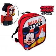 MK16506 Zainetto asilo e tempo libero 20 x 24 x 10 cm Mickey Mouse