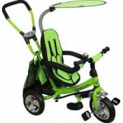 Tricicleta copii cu Scaun Reversibil Baby Mix Safari WS611 Green