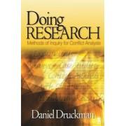 Doing Research by Daniel Druckman