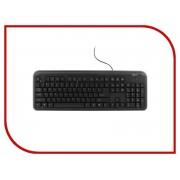 Клавиатура Gembird KB-8330U-BL Black USB