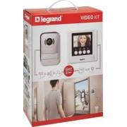 Érintőképernyős videó kaputelefon szett 4.3 inch 369110 - Legrand