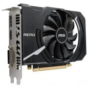 VGA MSI GeForce GTX 1050 Ti AERO ITX 4G OC / PCI-E / 4096MB GDDR5 / HDMI / DL DVI-D / DP / active
