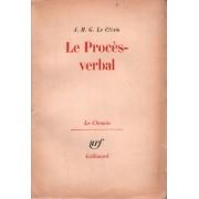Le Procès Verbal