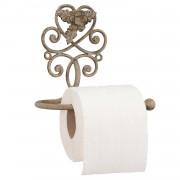 Toilettenpapierhalter aus Metall im Nostalgie-Look