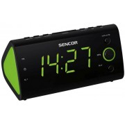 Rádiós ébresztőóra zöld színű LED kijelzővel SRC 170 GN